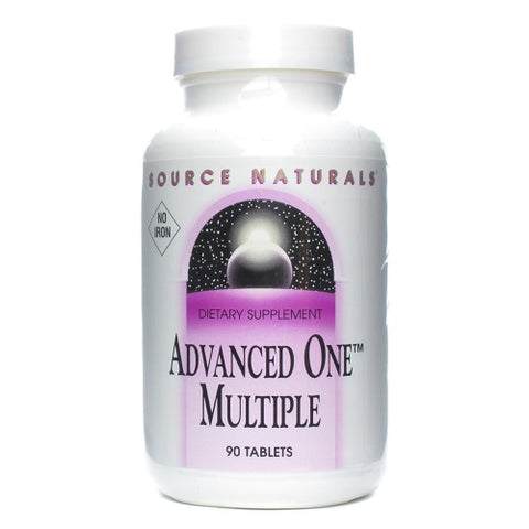 Source Naturals Advanced One Multiple No Iron