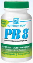 Nutrition Now PB 8 Pro Biotic Acidophilus Vegetarian