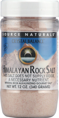 Source Naturals Himalayan Rock Salt Fine Grind Refill