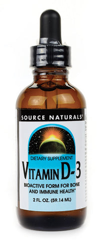 Source Naturals Vitamin D 3 2000 IU Liquid