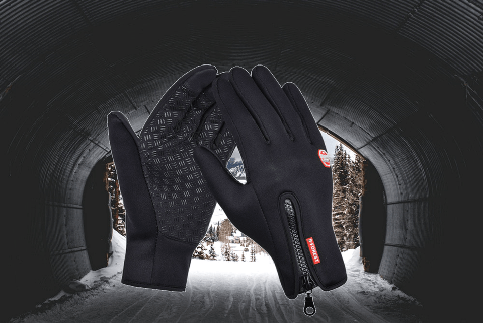 Waterproof Touch Screen Ski Snowboard Bike Gloves