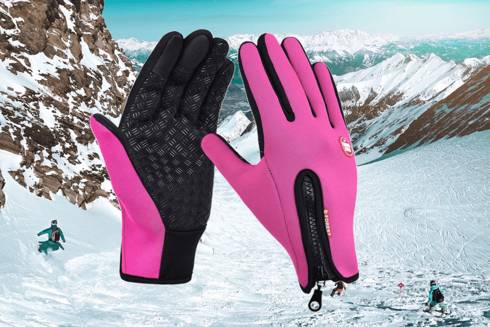 a3a6a551e9 Waterproof Touch Screen Ski Snowboard Bike Gloves – FLOWRIDGE