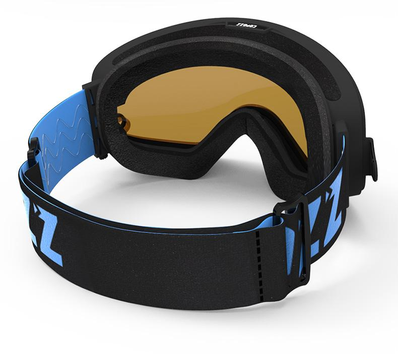 Anti-fog UV400 Snow Goggles | 2 in 1 Magnetic Dual-Use Lens for Night Skiing