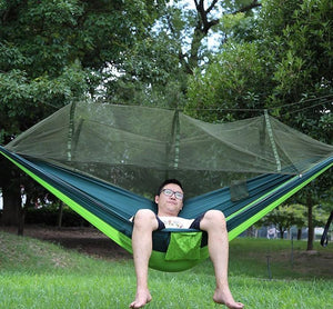Rad Two Person Portable Hammock with Net
