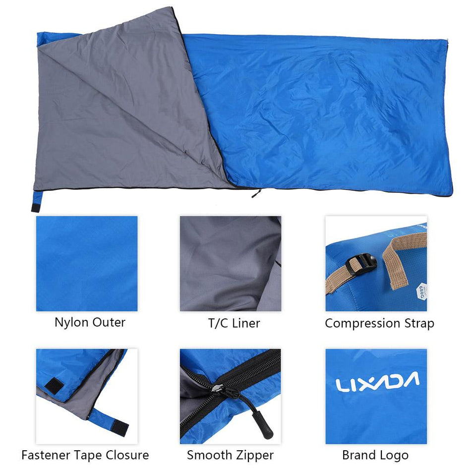 Portable Sleeping Bag with Compression Sack