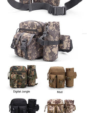 Gnarly Tactical Waist Pack with Detachable Bottle Holder