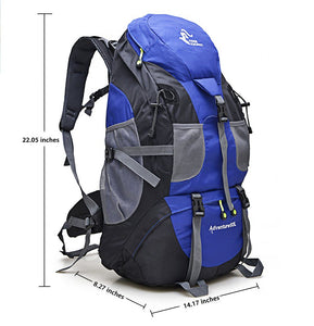 50L & 60L Waterproof Climbing, Hiking & Camping Premium Backpack