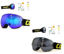 UV400 Anti Fog Ski Snowboard Goggles | 2 PACK