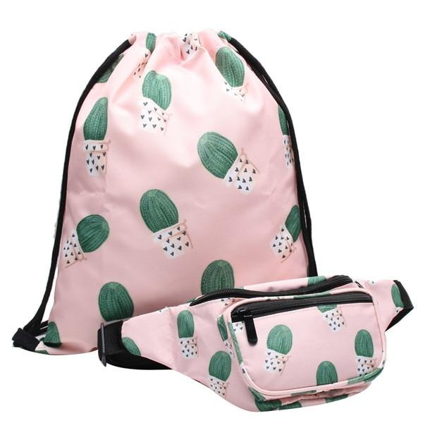 Stylish Fanny Pack + 1 Free Matching Drawstring Bag