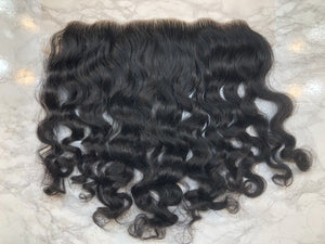 13x4 Raw Indian Curly Lace Frontal