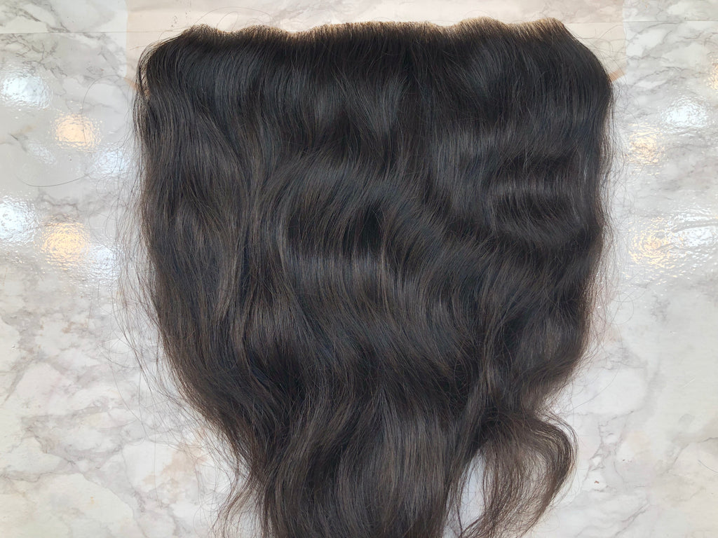 13x4 Raw Indian Straight(ish) Lace Frontal