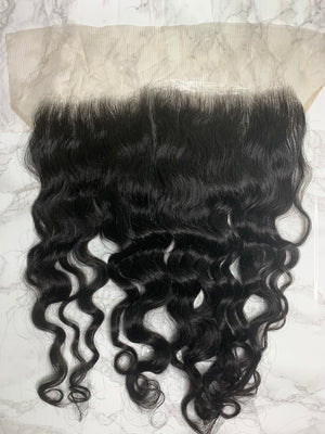 13x6 Raw Indian Curly Lace Frontal