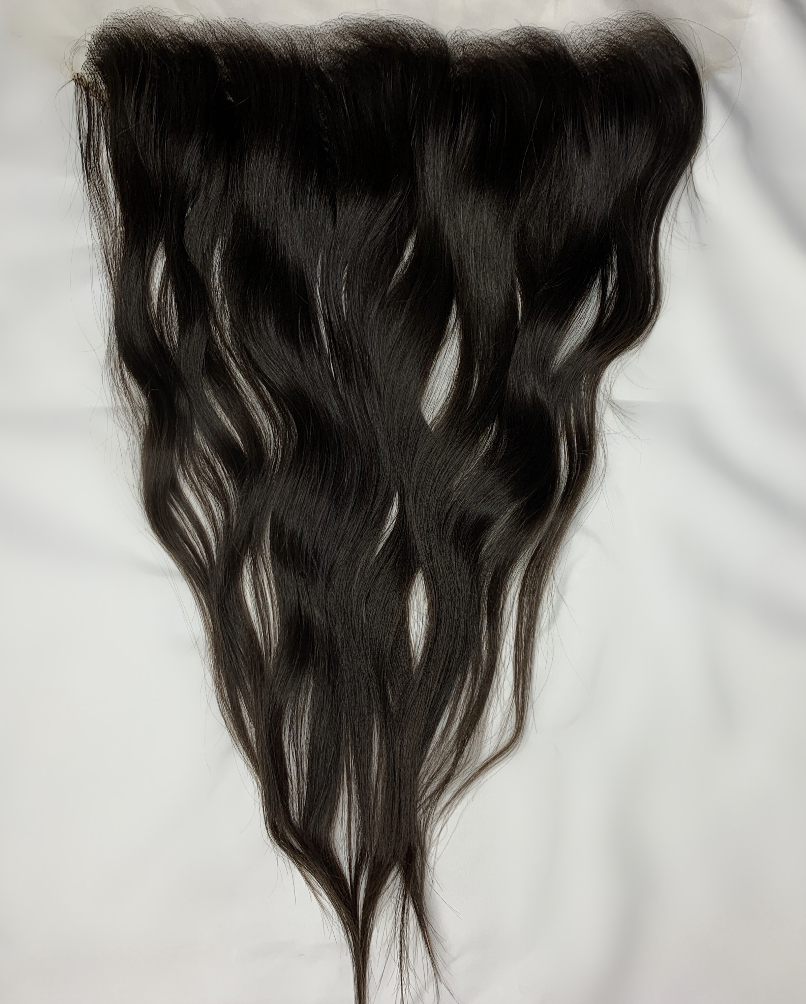 13x4 HD Lace Raw Indian Straight(ish)