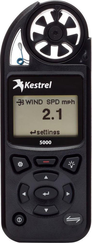 A Black Kestrel Environmental Meter