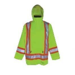 Viking Journeyman 420D Lime Green Insulated Rain Jacket