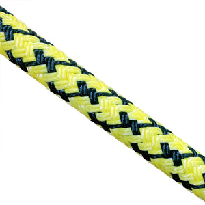 "Atlantic Braids 5/8"" Coated AB Double Barbed Wire Bull Rope"