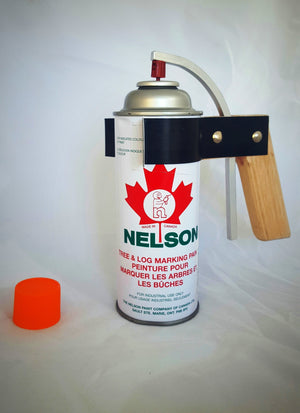 Wooden Spray Can Handle