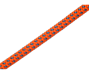Tachyon Orange w/ Blue Fleck 200' length (no splice)