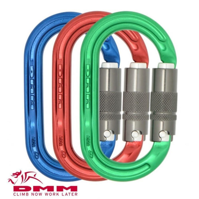 DMM Ultra O Locksafe Carabiner Colourpack