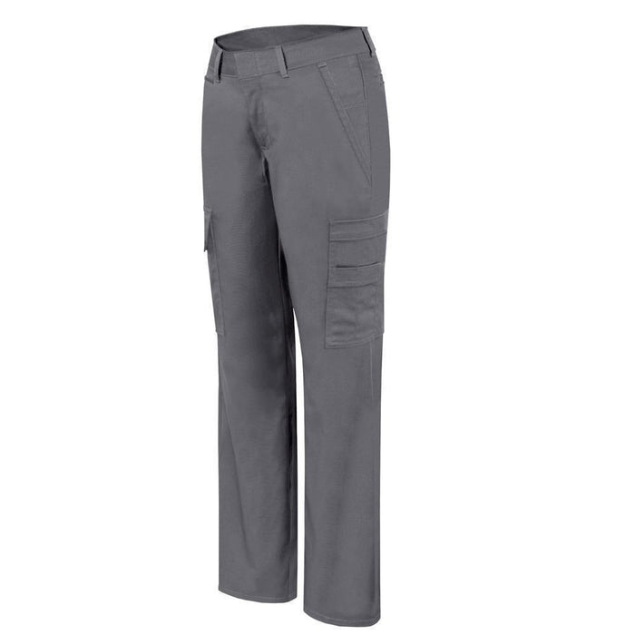 Stretch cargo work pant for women Grey