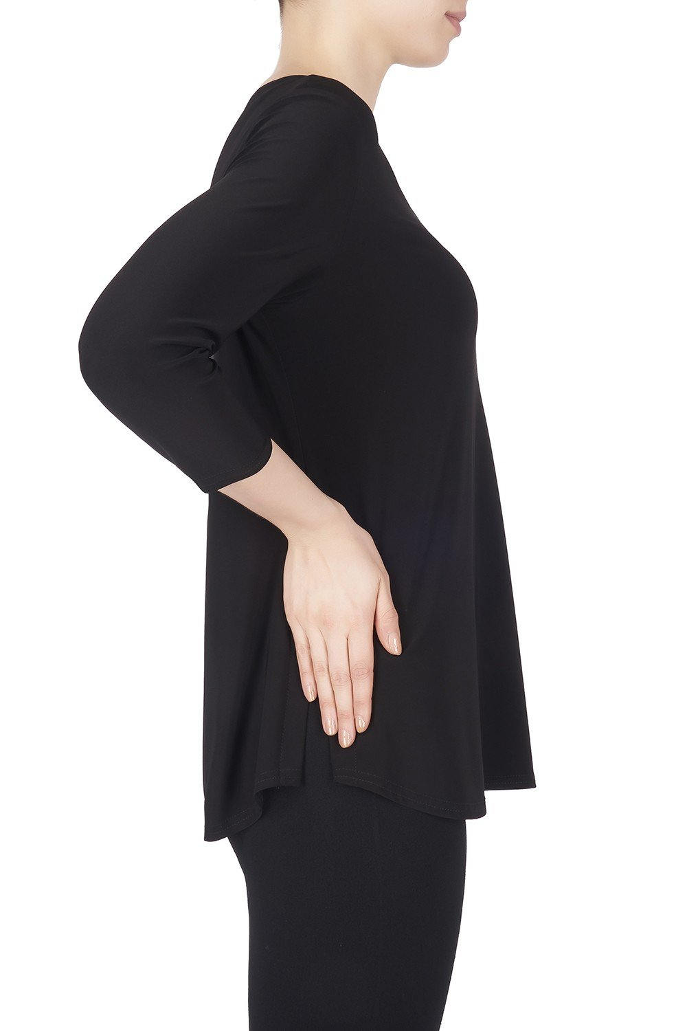 Image of Joseph Ribkoff Top Style 183171 Black Best Price On Sale