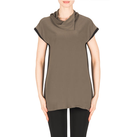 Image of Joseph Ribkoff Tunic Style 183176 Avocado Best Price On Sale