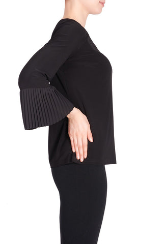 Image of Joseph Ribkoff Top Style 183275 Black Best Price On Sale