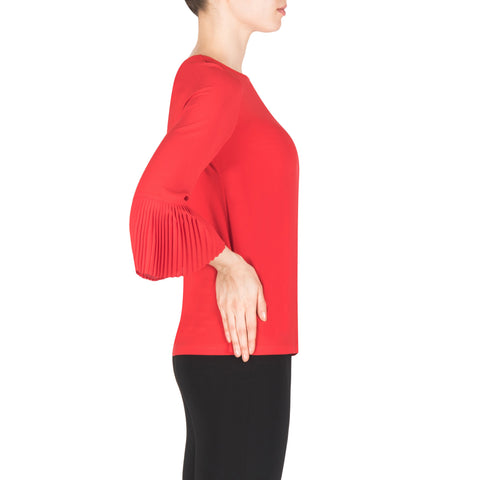 Image of Joseph Ribkoff Top Style 183275 Red Best Price On Sale
