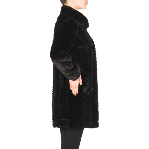 Image of Joseph Ribkoff Coat Style 183363 Black Best Price On Sale