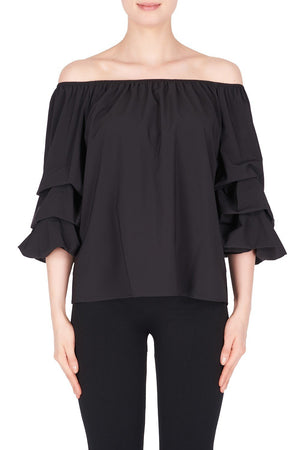 Joseph Ribkoff Top Style 183423 Black Best Price On Sale
