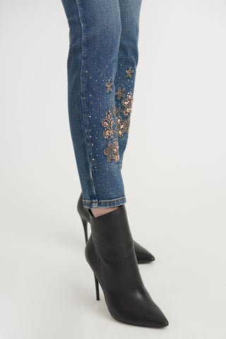 Joseph Ribkoff Ladies Denim Pants Style 203056