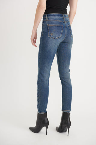 Image of Joseph Ribkoff Ladies Denim Pants Style 203056
