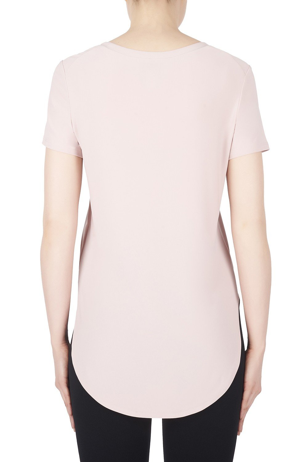 Image of Joseph Ribkoff Top Style 183220 Winter Blush Pink Best Price On Sale