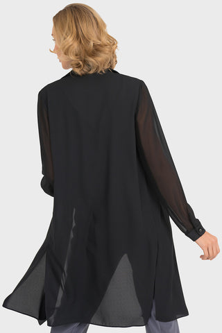 Image of Joseph Ribkoff Black Cover-Up Style 193261