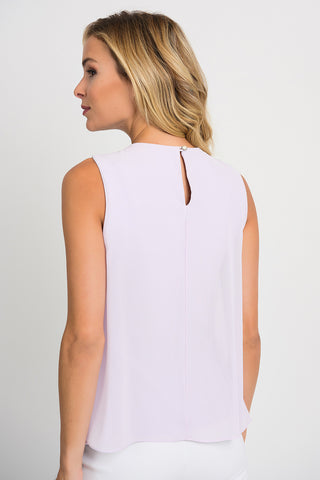 Image of Joseph Ribkoff Lavender Top Style 201375