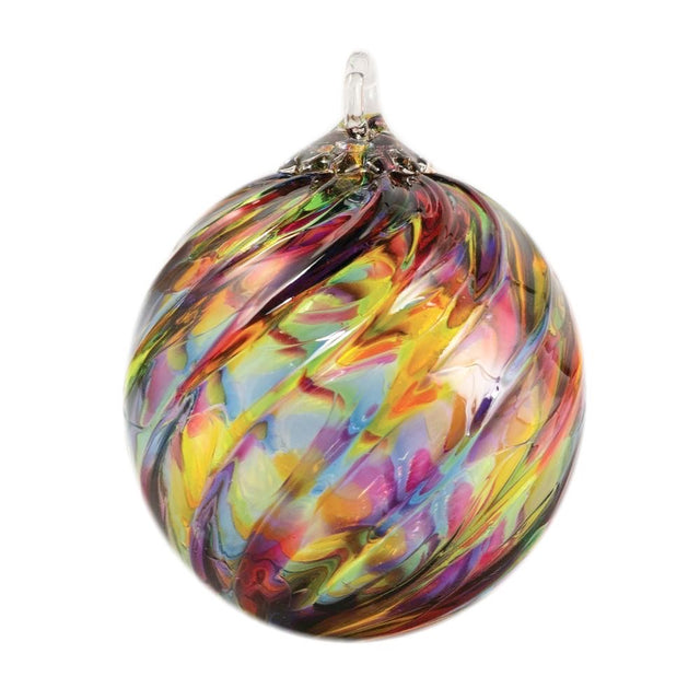 Vibrant Twist Ornament