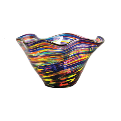 Rainbow Curve Bowl