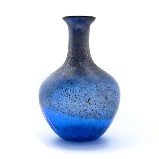 Blue Crackle Vase