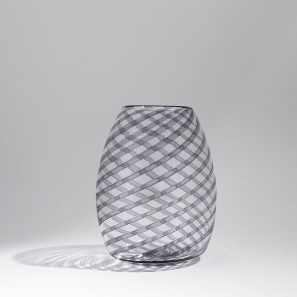 Twisted Cane Vase