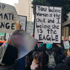 Resist at LA Women's March 2017