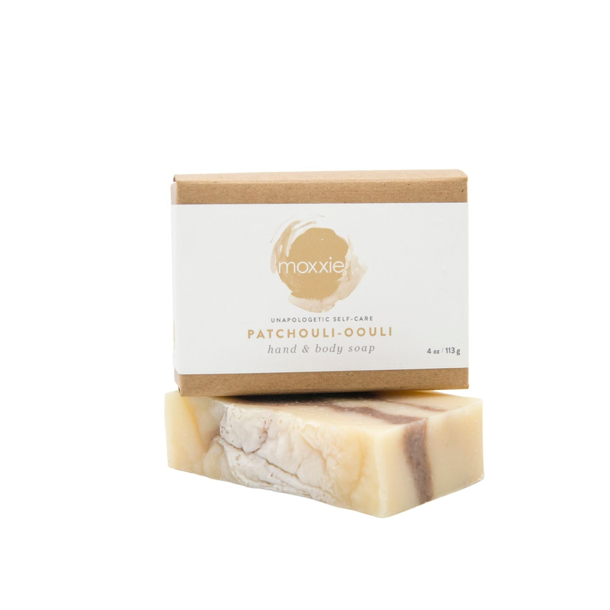 Moxxie all natural, handcrafted 100% botanical Bar Soap - patchouli