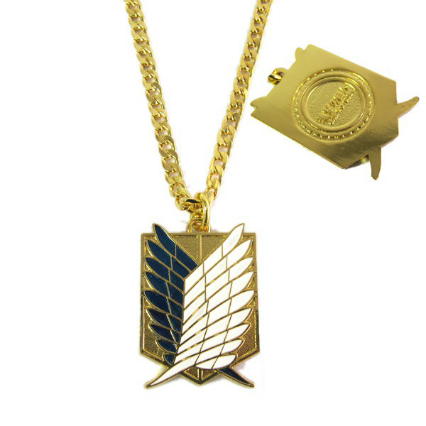 Attack on Titan Wings of Liberty Necklaces and Keychains