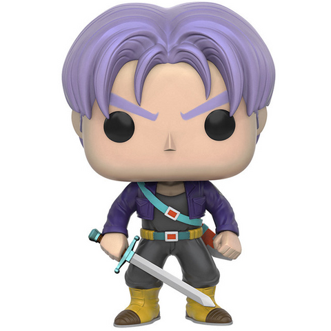Pop! Animation Dragon Ball Z Vinyl Figure Trunks #107