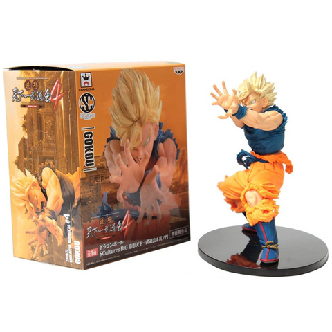 Dragon Ball Z Super Saiyan Son Goku Figure 17cm