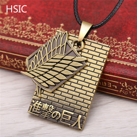 Attack On Titan Recon Corps Necklace