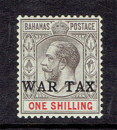 Bahamas war tax