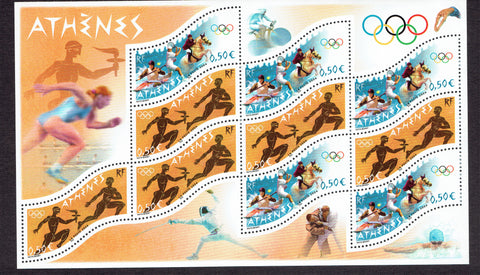 France Olympics stamps
