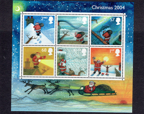 British postage stamps Christmas