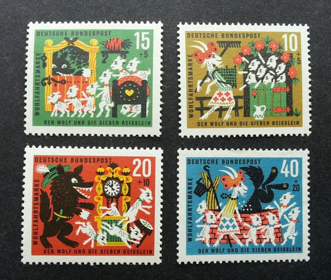 Grimm's Tales postage stamps