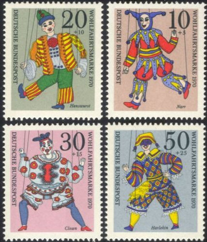 Germany semipostal stamps